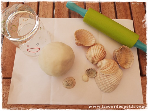 bricolage coquillage materiel
