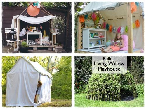 Construire une cabane pour les enfants la cour des petits - Cabane jardin plan asnieres sur seine ...