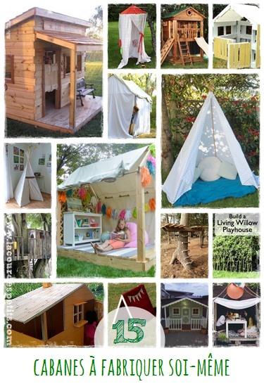construire une cabane pour les enfants la cour des petits. Black Bedroom Furniture Sets. Home Design Ideas