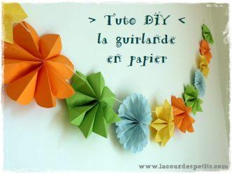 coment faire fleur en papier