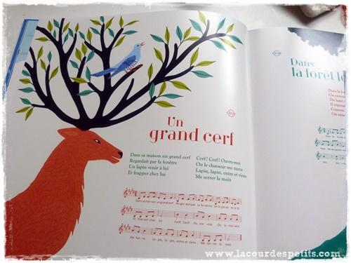 mon grand livre des comptines illustration