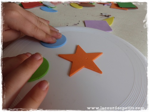 bricolage frisbee