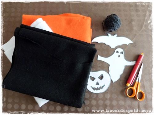 guirlande hallowenn materiel