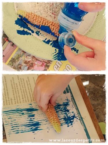 peinture epi maïs