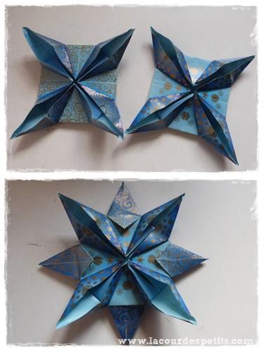 etoile noel origami