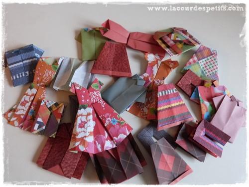 vetements origami