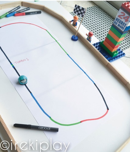 ozobot parcours
