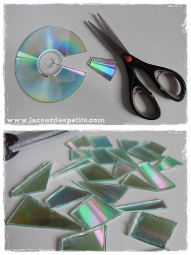 bricolage cd decoupe