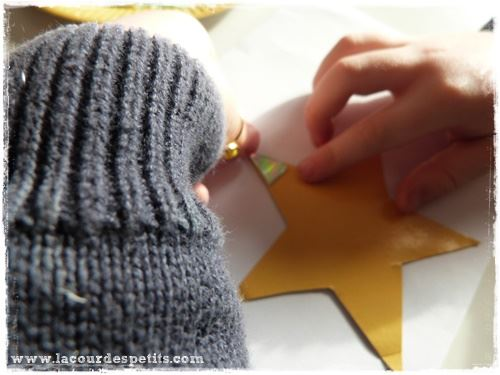 bricolage etoile noel