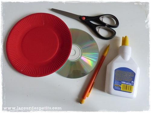 bricolage noel CD materiel