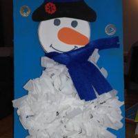 calendrier avent gobelet bonhomme de neige