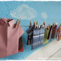 Calendrier avent origami