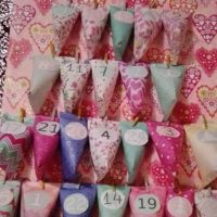 calendrier avent rose