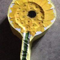 calendrier de l avent rouleaux papier toilette fleur