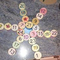 calendrier de l avent rouleaux papier toilette flocon