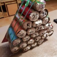 calendrier de l avent rouleaux papier toilette sapin