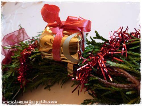 couronne noel decoration