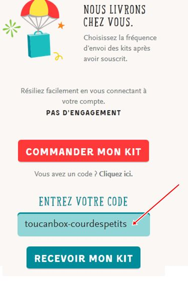 toucanbox code