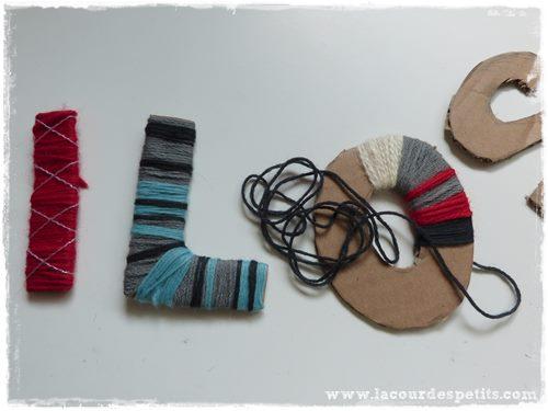 lettre laine technique