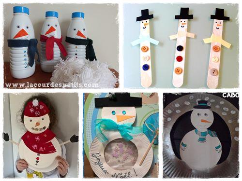 fabriquer un bonhomme de neige. Black Bedroom Furniture Sets. Home Design Ideas