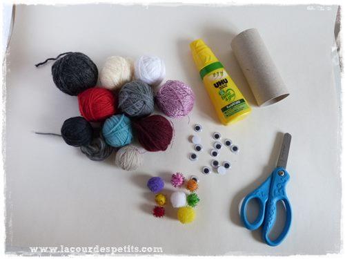 bricolage laine materiel