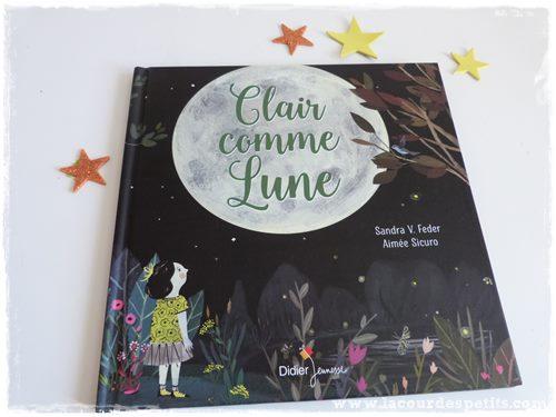 Clair comme Lune couverture