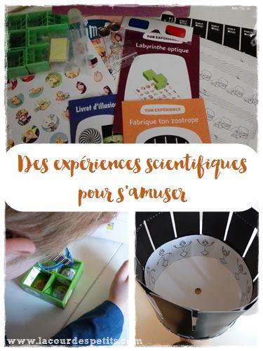 Des experiences scientifiques pour les enfants : testees et approuvees par mes gnomes !