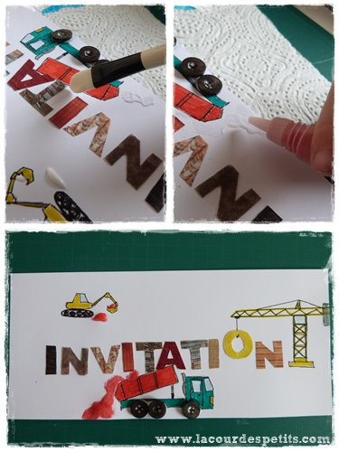 deco invitation chantier