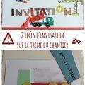 diy invitation chantier