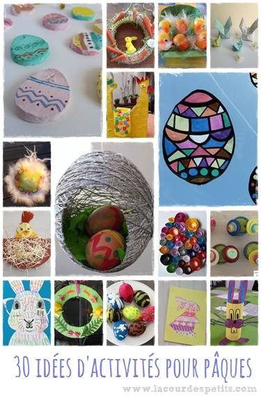 Des idées pour faire des activités de Pâques avec les enfants petits et grands.
