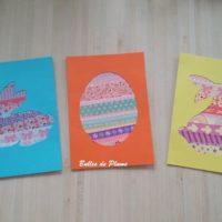 carte paques enfant