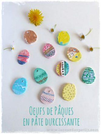 Un bricolage sympa a faire avec les enfants pour Pâques