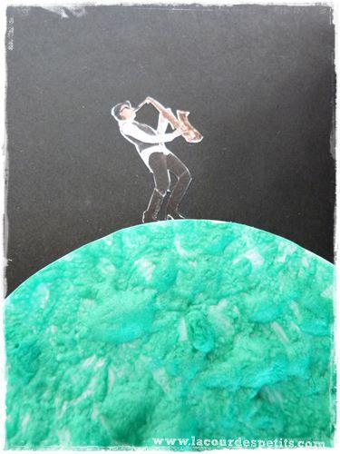 peinture gonflante lune