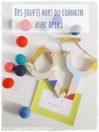 Une boutique qui propose une sélection de jouets beaux, originaux et éco-friendly pour les enfants