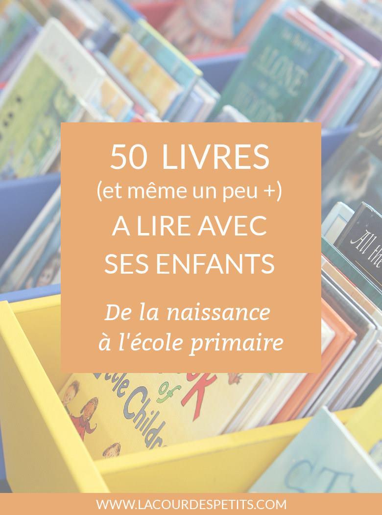 Une sélection de plus de 50 livres pour les enfants : histoires, documentaires, imagiers, de 0 à 8 ans environ