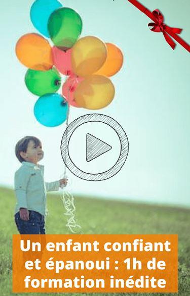 un enfant confiant et epanoui