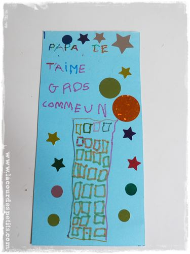 message carte fete des peres