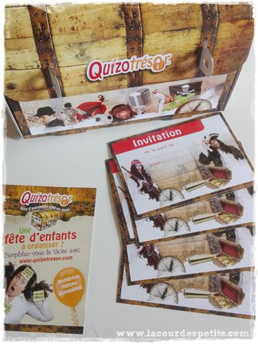 quizotresor invitations