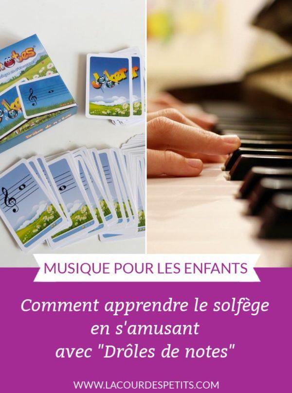 Un jeu qui permet d'apprendre à lire les notes de musique facilement, en s'amusant ! A découvrir pour les apprentis musiciens.