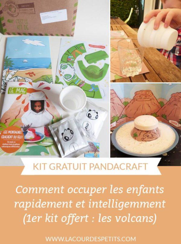 Je suis passée pour une super maman aux yeux des enfants grâce à ce kit Pandacraft. En plus il est gratuit !