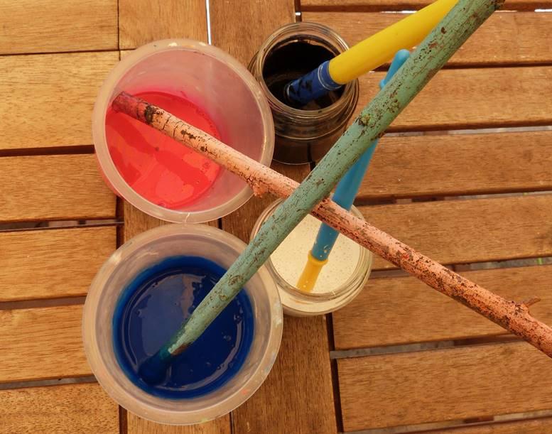 pots couleurs