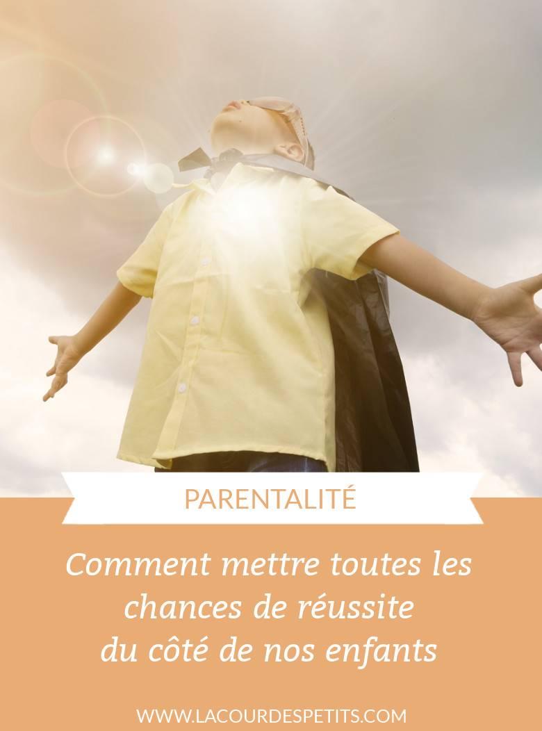 La qualité à développer chez les enfants pour mettre toutes les chances de leur côté dans leur vie future.