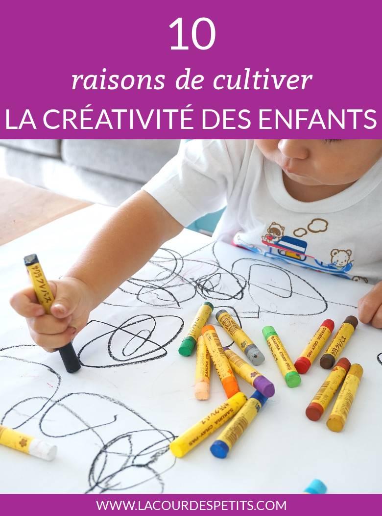 La créativité est une qualité essentielle pour nos enfants. Voici 10 avantages à être créatif et des pistes pour cultiver cette créativité chez les petits. #parenting #parentalité #parentingtips #creativity #enfants #lacourdespetits #activitesmanuelles #kidscraft #lacourdespetits