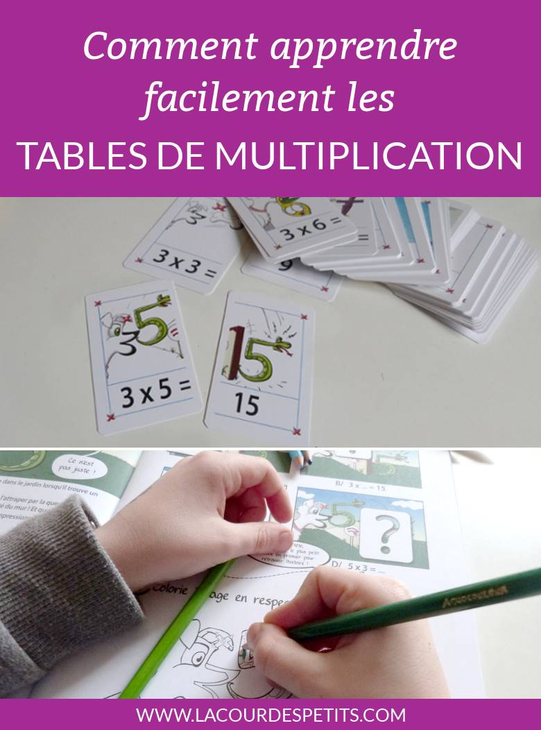 apprendre les tables de multiplications avec multimalin