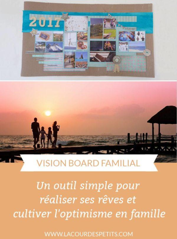Faire un vision board (tableau de visualisation) avec les enfants