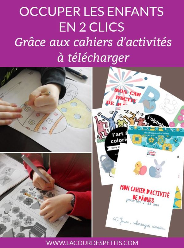 cahiers activites cabane a idees