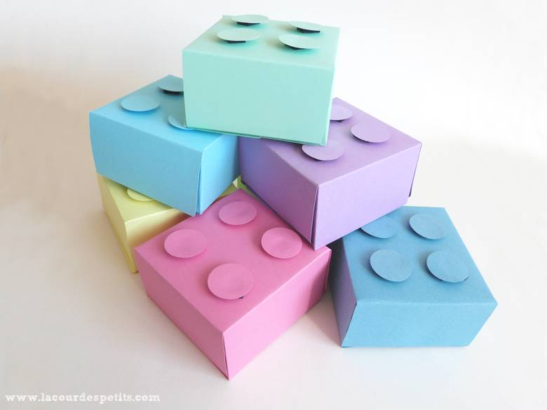 boite cadeau lego