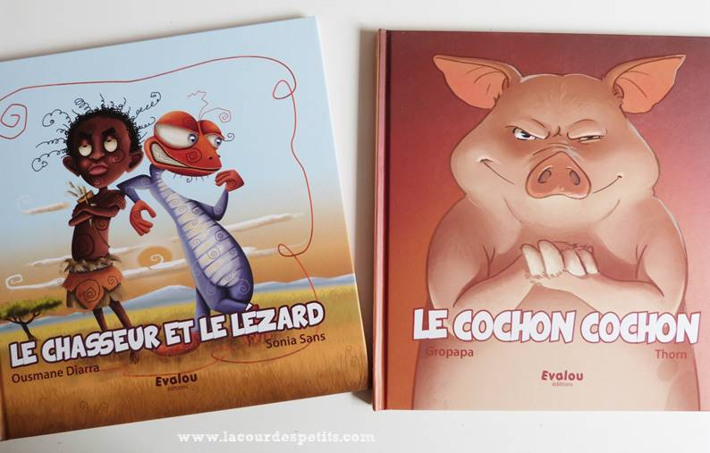 lezard et cochon evalou