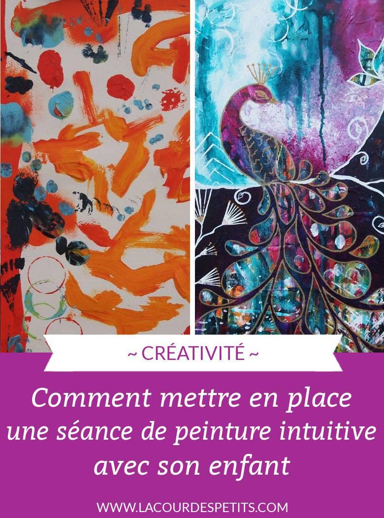 creativite comment mettre en place une séance de peinture intuitive