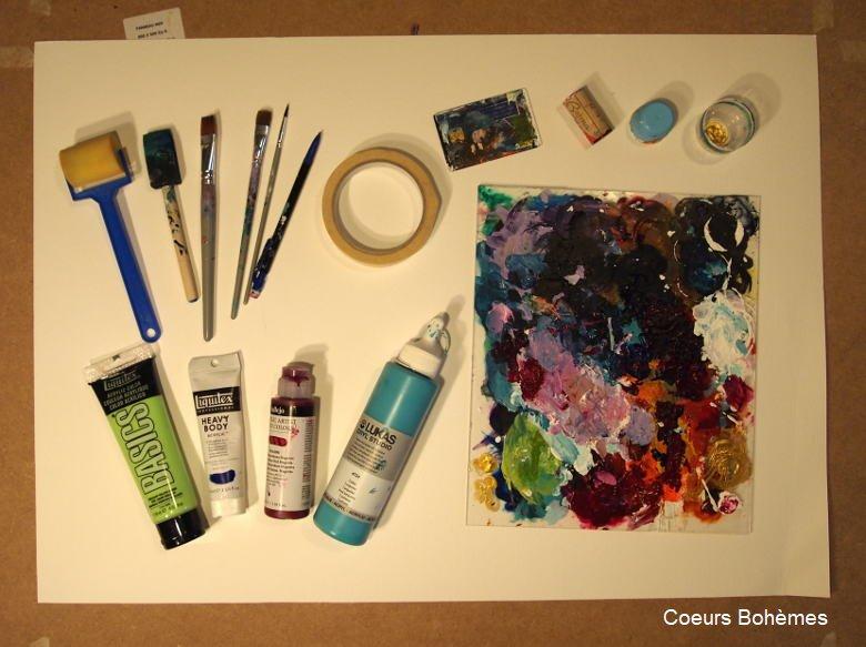matériel peinture intuitive
